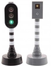 Set de joaca Johntoy - Semafor si radar cu sunete si lumini -1