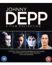 Johny Depp - 4 Film Collection (Blu-Ray)