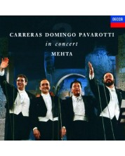 The Three Tenors in Concert (CD)