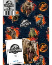 Hartie si etichete pentru cadou Danilo - Jurassic World -1