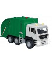 Jucarie pentru copii Battat Driven - Camion de reciclare, cu sunet si lumini -1