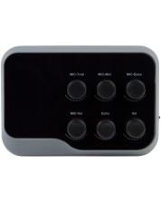 Karaoke mixer Diva - BT-01, negru/gri