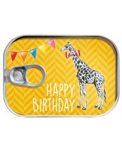 Felicitare in conserva Gespaensterwald - Birthday, girafa -1
