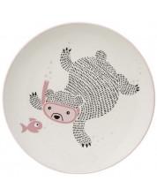 Farfurie din ceramica Bloomingville Ellie - Ursuletul care se scufunda -1
