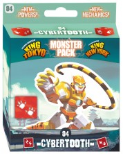 Extensie pentru joc de societate King of Tokyo/New York - Monster Pack: Cybertooth