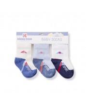 Sosete din bumbac pentru copii Kikka Boo - Sport Blue - 2-3 ani -1