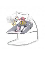 Leagan 2 in 1 pentru bebelusi KinderKraft Minky - Roz -1