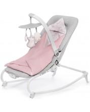 Balansoar cu vibratii pentru bebelusi KinderKraft Felio 2020 - Cu melodii, roz -1