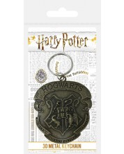 Breloc 3D Pyramid Movies: Harry Potter - Hogwarts Crest