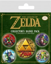 Set insigne Pyramid - The Legend Of Zelda:  Classics