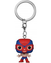 Breloc Funko Pocket POP! Marvel: Lucha Libre Edition - El Aracno (Spider-man)