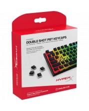 Taste pentru tastatura mecanica HyperX - Double Shot, 104buc., negre -1