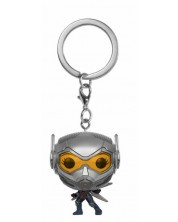 Breloc Funko Pocket Pop! Marvel: Ant-Man and The Wasp - Wasp, 4 cm