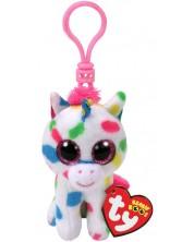 Breloc TY Toys Beanie Boos - Unicorn Harmonie -1