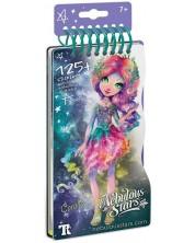 Carte de desen Nebulous Stars - Cu sabloane si stickere, Designer de moda, Coralia