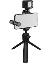 Set pentru inregistrari audio Rode - Vlogger Kit iOS Edition, gri/negru