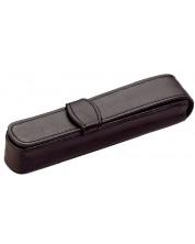 Husa din piele Diplomat - Pentru 1 instrument de scris -1