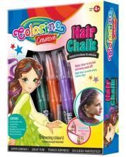 Set pasteluri pentru par Colorino Creative - Pentru fete, 5 culori -1