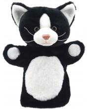 Papusa de mana stil manusa The Puppet Company Prieteni - Pisoi,  negru cu alb