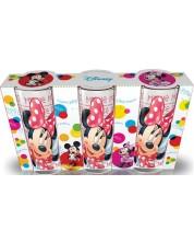 Set de 3 pahare Disney - Minnie Mouse