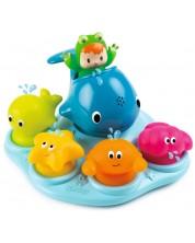 Set jucarii din cauciuc pentru baie Smoby Cotoons, 5 bucati -1
