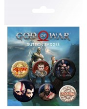 Set insigne GB eye Games: God Of War - Characters