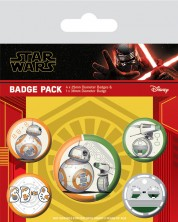 Set insigne Pyramid Star Wars: The Rise of Skywalker - Droids