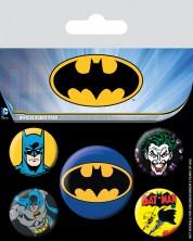 Set insigne Pyramid - Batman