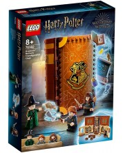 Set de construit Lego Harry Potter - Moment in Hogwarts: Ora de transformare (76382)