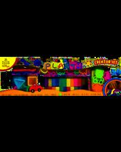 Set de modelat cu plastilina Carioca Plasty Creator - 50 piese, 24 culori -1
