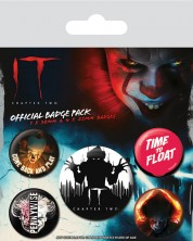 Set insigne Pyramid IT Chapter Two - Clown