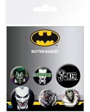 Set insigne GB eye DC Comics: Batman - The Joker