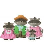 Set figurine Battat Lil' Woodzeez - Familie de ratoni