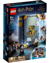 Set de construit Lego Harry Potter - Moment in Hogwarts: Ora de magie (76385)