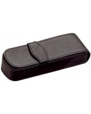 Husa din piele Diplomat - Pentru 2 instrumente de scris -1