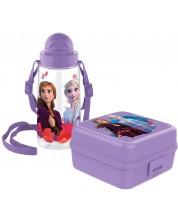 Set sticla si cutie pentru mancare Disney - Frozen