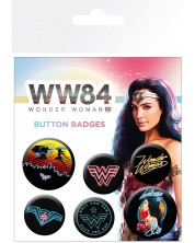 Set insigne GB eye DC Comics: Wonder Woman - 1984 (Neon Art)