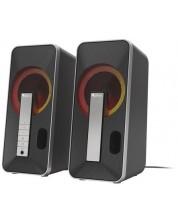 Sistem audio Genesis - Helium 100BT, 2 броя, 2.0, negru