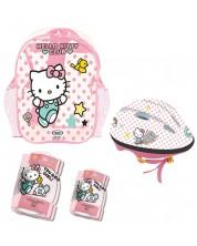 Set D'Arpeje Hello Kitty - Casca, genunchiere si cotiere
