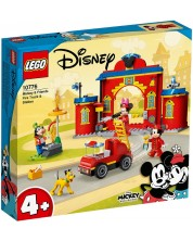 Constructor Lego Mickey and Friends - Pompieri si camion  (10776)
