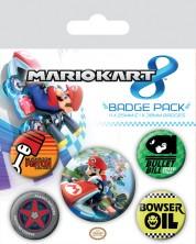 Set insigne Pyramid -  Mario Kart 8