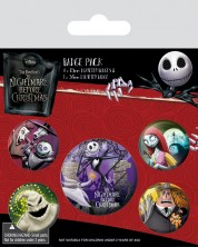 Set insigne Pyramid -  Nightmare Before Christmas (Characters)