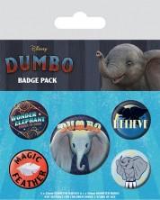 Set insigne Pyramid Disney Dumbo - The Flying Elephant