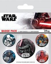 Set insigne Pyramid Star Wars - Dark Side
