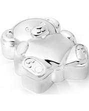Cutie primul dinte Zilverstad - Ursulet, argint -1