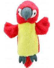 Papusa-manusa The Puppet Company - Papagal, 25 cm