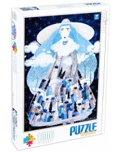 Puzzle D-Toys de 1000 piese - Iarna, Andrea Kurti
