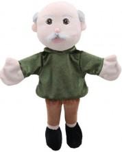 Papusa pentru teatru The Puppet Company - Bunic, 38 cm