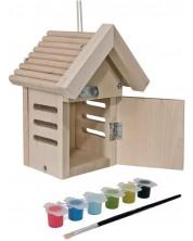 Set din lemn Eichhorn - Casa pentru gargarite -1