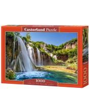 Puzzle Castorland de 1000 piese - Tara lacurilor cazatoare